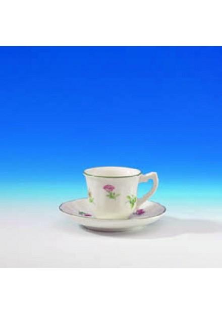 Taza y Plato café