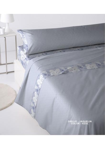 Sábana Jaquelin Azul
